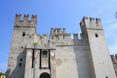 Rocca Scaligera Castle Royalty Free Stock Photos