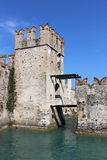 Rocca Scaligera or Scaliger Castle Sirmione Italy Stock Photography