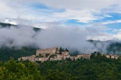 Rocca Sinibalda, Ιταλία στοκ εικόνα με δικαίωμα ελεύθερης χρήσης