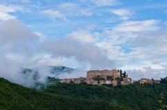 Rocca Sinibalda, Italië Royalty-vrije Stock Afbeeldingen