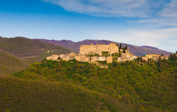 Rocca Sinibalda, Lazio, Italy Stock Photo
