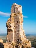 Rocca w Campiglia Marittima w Tuscany, Włochy Fotografia Stock