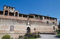 Roccabianca Castle. Emilia-Romagna. Italy. Stock Photos