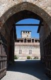 Roccabianca Castle. Emilia-Romagna. Italy. Royalty Free Stock Image