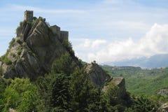 Roccascalegna Image stock