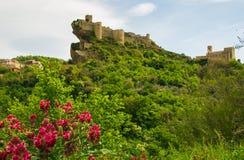 Roccascalegna by i abruzzo Royaltyfri Bild