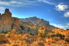 Rocce 3 del deserto fotografia stock