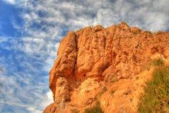Rocce 4 del deserto immagine stock