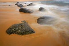 Rocce al mare Fotografia Stock