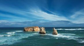 Rocce australiane famose fotografie stock