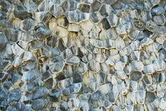 Rocce basaltiche in Asbyrgi, Jokulsargljufur, Islanda Fotografia Stock