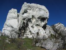 Rocce bianche Fotografia Stock