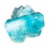 Rocce blu del topazio Immagine Stock