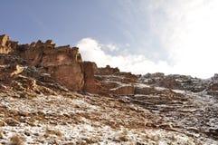 Rocce, CHIMGAN, l'UZBEKISTAN Fotografia Stock Libera da Diritti