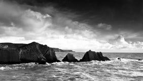 Rocce in Cornovaglia Fotografia Stock
