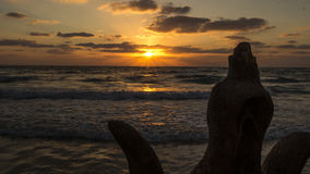 Rocce dal mare Immagini Stock
