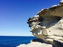 Rocce dall'oceano Fotografie Stock Libere da Diritti