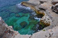 Rocce del Calanques Fotografie Stock Libere da Diritti