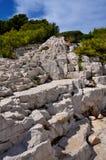 Rocce del Calanques Immagine Stock Libera da Diritti