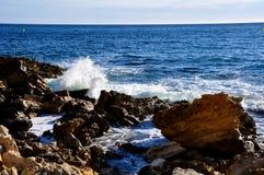 Rocce del Calanques Immagini Stock