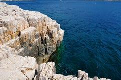 Rocce del Calanques Fotografie Stock