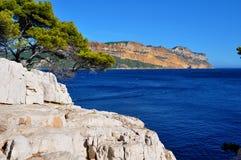 Rocce del Calanques Fotografia Stock