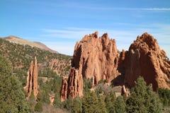 Rocce del Colorado Fotografia Stock Libera da Diritti