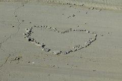 Rocce del cuore Fotografia Stock