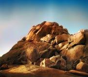 Rocce del deserto immagini stock