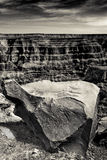 Rocce del grande canyon immagini stock