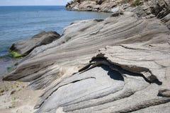 Rocce del granito Fotografia Stock