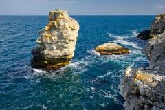 Rocce del mare Immagine Stock