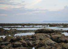 Rocce del mare su una spiaggia Immagine Stock Libera da Diritti