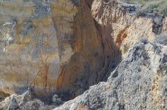 Rocce del Portogallo Il sud del Portogallo - Algarve Immagine Stock