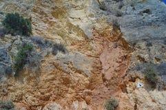 Rocce del Portogallo Il sud del Portogallo - Algarve Fotografia Stock