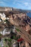 Rocce del Santorini Fotografia Stock Libera da Diritti