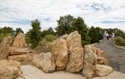 Rocce dell'arenaria Fotografie Stock