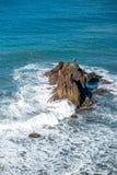 Rocce dell'oceano sull'isola di Tenerife Fotografia Stock Libera da Diritti