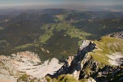 Rocce della collina dello schneeberg Fotografia Stock Libera da Diritti