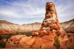 Rocce della guglia al parco di stato del bacino di Kodachrome immagini stock libere da diritti