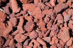 Rocce della lava Fotografie Stock