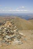 Rocce della montagna Immagini Stock