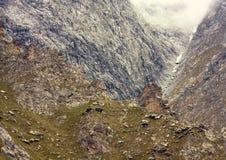 Rocce della montagna Fotografia Stock
