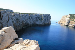 Rocce della Sardegna Fotografie Stock Libere da Diritti
