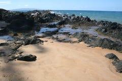 Rocce della spiaggia Immagine Stock