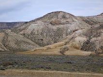 Rocce della steppa cavità Fotografie Stock