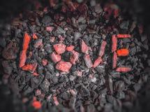 Rocce di amore fotografie stock libere da diritti