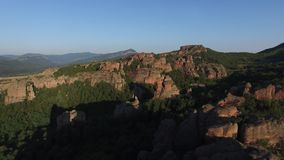 Rocce di Belogradchik, Bulgaria stock footage