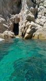Rocce di Cabo Immagine Stock