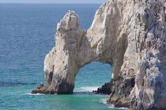 Rocce di Cabo San Lucas di conclusione degli sbarchi Immagine Stock Libera da Diritti